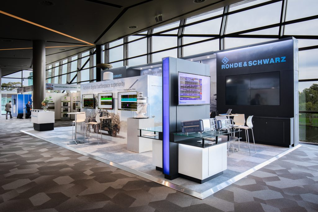 Embracing Defence Security Impact Displays Unique Custom Built Exhibition Stands